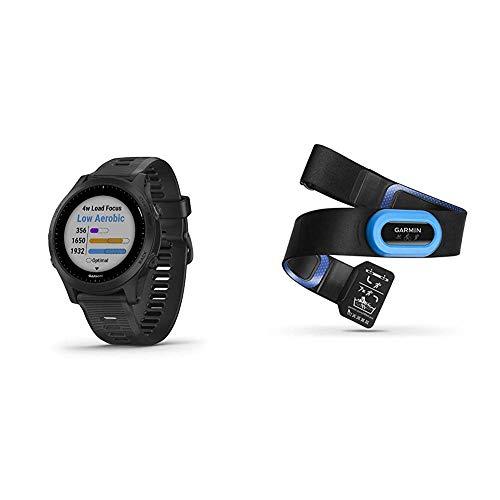 Sale!! Garmin Forerunner 945, Premium GPS Running/Triathlon Smartwatch with Music, Black Bundle with...