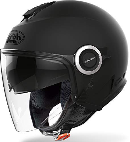 CASCO AIROH HELIOS COLOR BLACK MATT L
