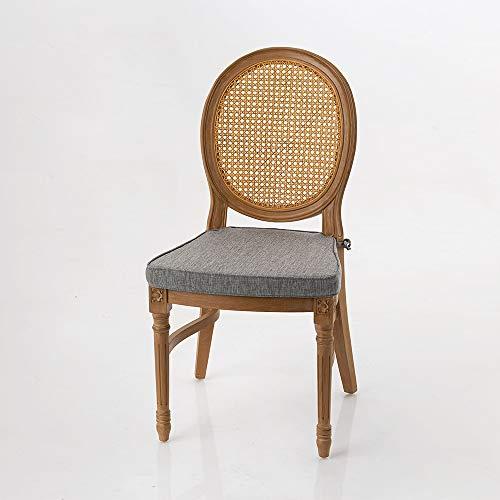 Amadeus - Chaise Stackable Gris Clair 50 cm x 103 cm x 61 cm (Lot de 4)