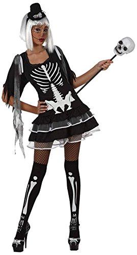Atosa–10479–Costume–Scheletro Sexy Adulto T-2, taglia M