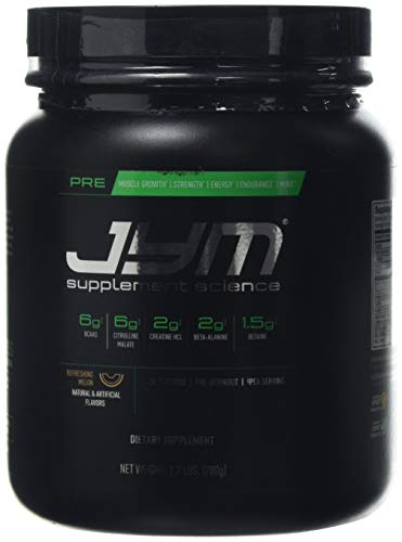 JYM Supplement Science Pre Refreshing Melon Supplement, Pack of 30