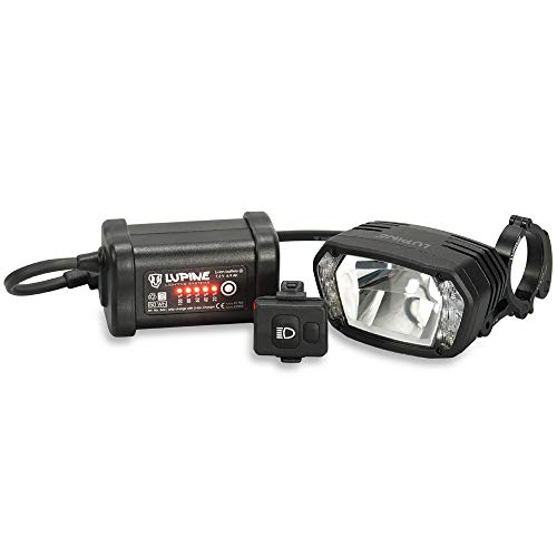 Lupine SL AX7 StVZO Fahrradlampe 2200 Lumen SC Akku + 31.8mm Schnellspanner