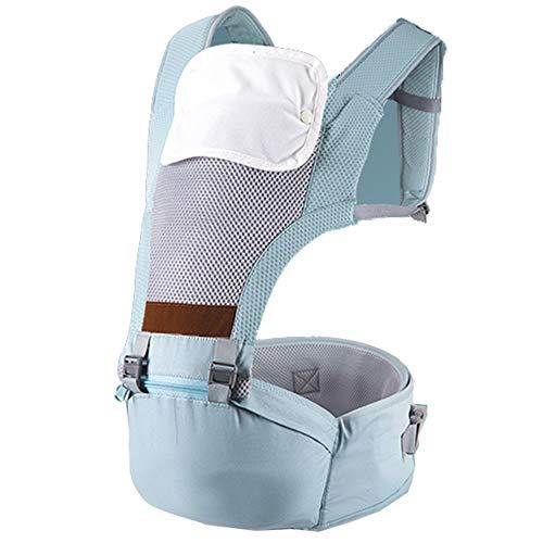 YUMEIGE Baby Carriers Baby Carrier voor pasgeboren draaggewicht 20 kg, Baby Hip Seat Carrier met Afneembare Speeksel Handdoek, Carrier Gewicht 600 g Lichtgewicht