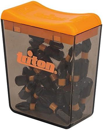 Triton TPTA51821010 T30-Schraubendrehereins/ätze T30 50 mm schwarz 3er-Pack