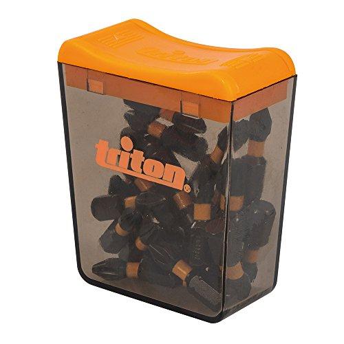 Triton Phillips-Schraubendrehereinsätze, 25er-Pack, 1 Stück, schwarz, TPTA52652975