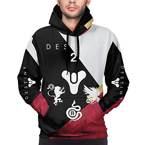 LiYang De-Sti_Ny 2 Personalisierte Unisex Pullover 3D Digital Print Sweatshirt Hoodie groß