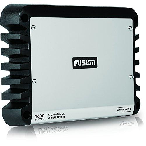 Fusion Unisex sg-da12250 d-class Mono Signature Series versterker, zilver