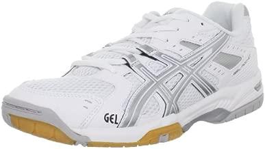 ASICS Women's GEL-Rocket 6 Volleyball Shoe,White/Silver,11 M US