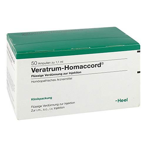 VERATRUM HOMACCORD Ampullen 50 St