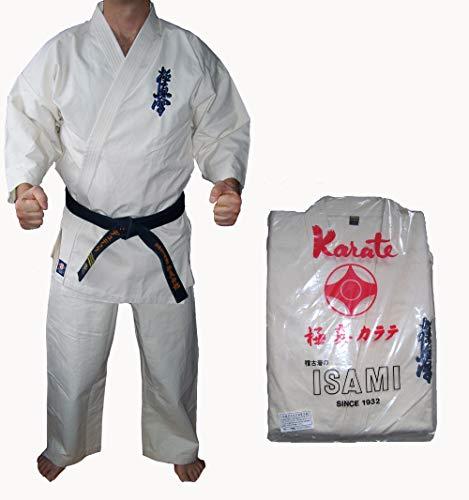 PRIME Ni/ños Traje de Karate Uniforme Artes Marciales Poly algod/ón 6-oz Color Blanco 000/A 3/tama/ños
