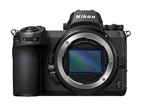 Nikon Z7 - Cámara sin Espejo de 45.7 MP (LCD TFT de 3.2'', 4K, 493 Puntos de Enfoque, 9 FPS) Negro - Cuerpo con Adaptador de Montura FTZ