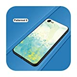 Phonecase - Carcasa para iPhone 5, 5S, SE 2020, 6, 6S, 7, 8 Plus, vidrio templado, para iPhone X, XS, Max 11, Pro Max SE 2