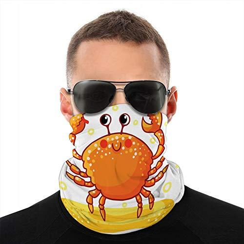 ncnhdnh Shields Cover Protection from Wind Cold Cute Cartoon Sea rab Tube Balaclava