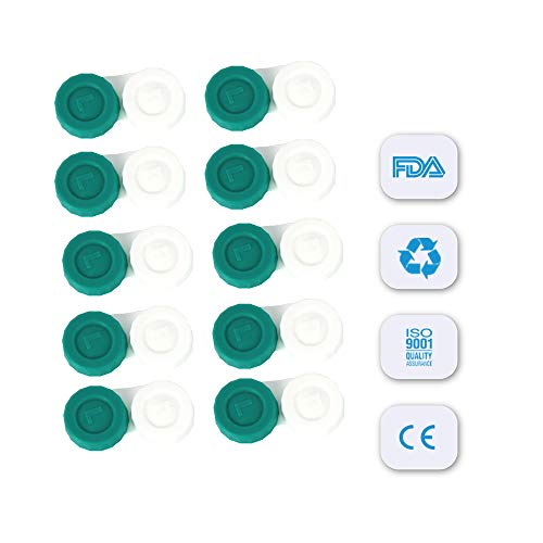 Sports Vision's Kontaktlinsenbehälter – Flach Design CE-gekennzeichnet und FDA-zugelassen 10 Stück - 3
