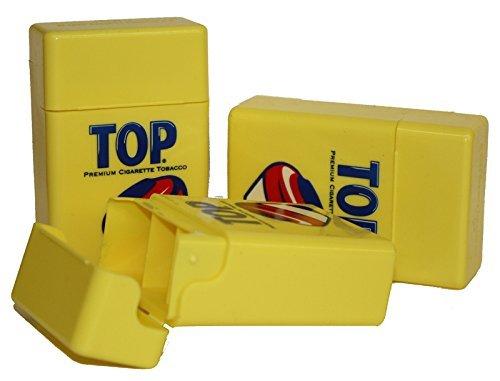 Top Strong Box Cigarette Case - King Size Cigarettes (4 Boxes)