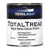 TotalBoat TotalTread Non-Skid Deck Paint, Marine-Grade Anti-Slip...