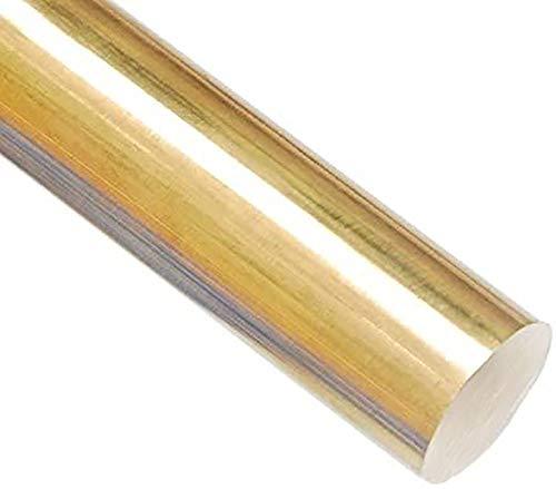 Wzqwzj Barra Redonda Varilla de latón, 200mm Longitud, diámetros de 20 mm a 28 mm,20mm