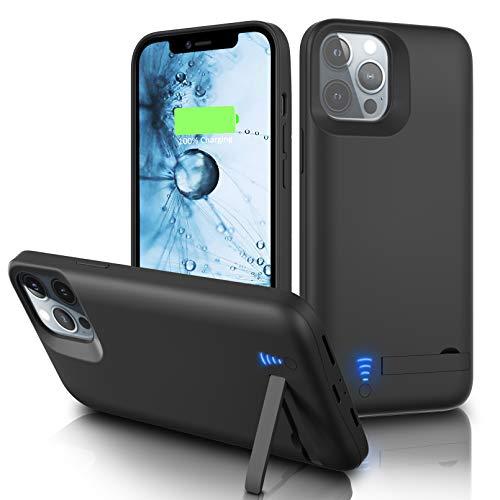 Gladgogo Funda Batería para iPhone 11 Pro Max [6800 mAh] Funda Cargador Carcasa Batería
