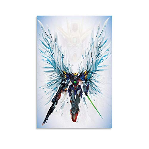 DHGHJ Gundam Wing Zero Art Poster Poster Decorative Painting Canvas Wall Art Living Room Posters Bedroom Painting 16x24inch(40x60cm)