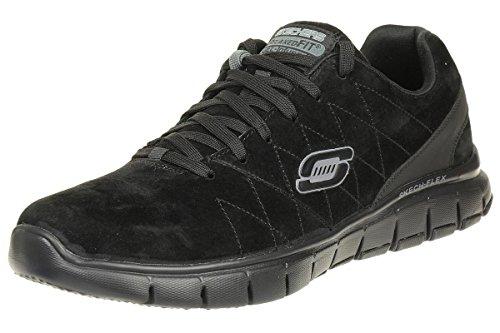 Skechers Skech Flex Natural Vigor Herren Sneaker Schuhe Relaxed Fit BBK, Schuhgröße:EUR 40