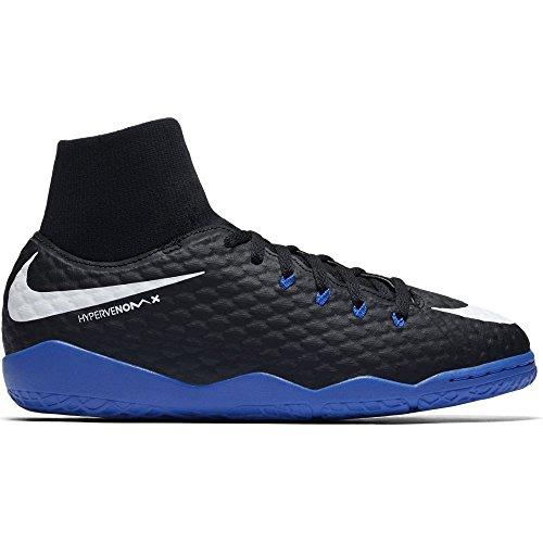 Nike JR Hypervenomx Phelon 3 DF IC zwart