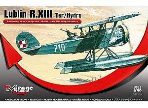 Mirage Hobby 485003 - Lublin R.XIII Ter/Hydro Rec. seaplane, samolot
