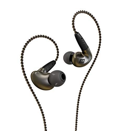 MEE audio Pinnacle P1 High Fidelity Audiophile In-Ear-Kopfhörer mit abnehmbaren Kabeln – EP-P1-ZN-MEE, Pinnacle P1 (Zink)