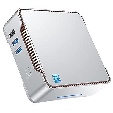 Mini PC Windows 10 pro Intel Celeron J4125(up tp 2.70Ghz) Mini Computer 8GB DDR4 128GB SSD Quad-Core Dual HDMI Gigabit…