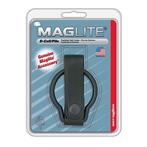 Preisvergleich Produktbild Mag-Lite ASXD036 Ledergürtelring für D-Cell Taschenlampe mit paktische Lederschlaufe und Druckknopf