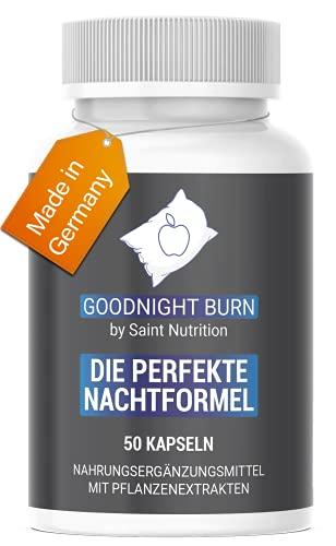 Saint Nutrition® GOODNIGHT F-BURN Kapseln - mit Garcinia Cambogia, vegan & schnell für Männer & Frauen, Hochdosiert & Hergestellt in Deutschland