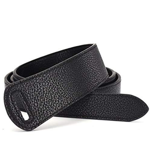 ZAGO Cinturón de la Mujer Cintura Decorativa Estilo de Las señoras con Vestidos de cinturón Ancho Estudiante Nudo cinturón por Pantalones de Vestir Pantalones Vaqueros (Color : Black)