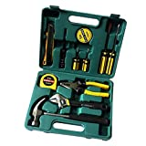 Vroxy 12 in 1 Multi-Functional Household Electrical Repair Full Tool Kit Set | Plier Screw Driver Cutter for Emergency Uses - Set of 1 Kit