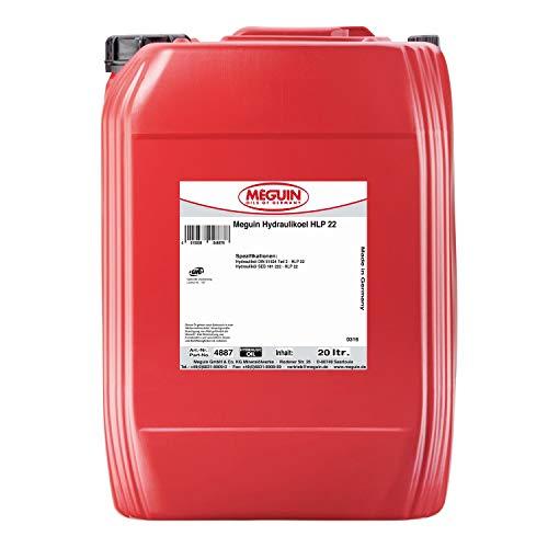 Meguin / megol HLP 22 Hydrauliköl nach DIN 51524 Teil 2 - Made in Germany - 20 Liter Kanister
