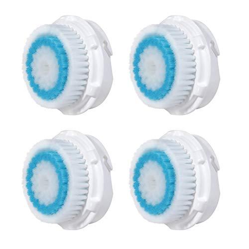 Remplacement de la tête de brosse de nettoyage profond. Remplacez avec Clarisonic Deep Hole Facial Cleansing. Compatible avec Mia 1, 2, 3 (Aria), Profil SMART, Alpha Fit, Plus, Sonic Radiance