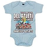 Body bebé ya tenemos otro del Atleti más en la familia - Celeste, Talla única...