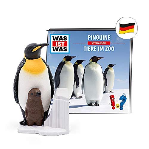 tonies Hörfigur für Toniebox, was IST was – Pinguine & was IST was – Tiere im Zoo, Hörspiel für Kinder...