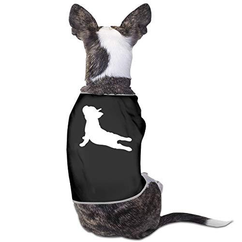 DLOAHJZH-Q French Bulldog Yoga Puppy Vest Tank Tops Dogs Pet Sleeveless Shirt