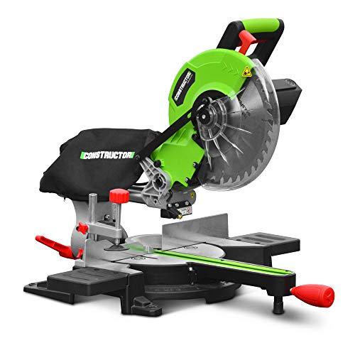 Constructor - Sierra ingletadora radial, 1800 W, 254 mm