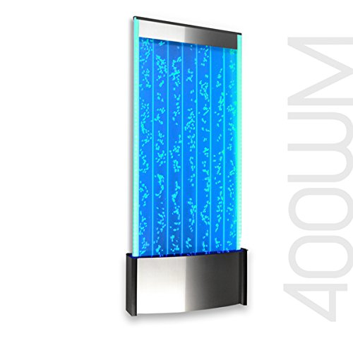 """Wall Mount LED Bubble Wall Panel Indoor Fountain Water Feature 45"""" 400WM Aquarium Water Fall"""