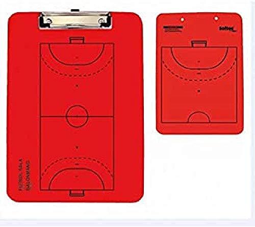 Softee Equipment 0004640 Carpeta de Tácticas, Rojo, S