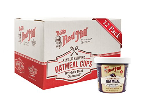 Bobs Red Mill Blueberry Hazelnut Oatmeal Cup 25 Ounce  12 per case