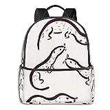 Mochila de Biber para hombre, mochila de viaje, mochila de viaje, mochila estampada de moda, regalos para hombres, mujeres y adolescentes
