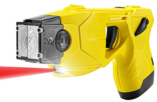 Taser X26P Stun Gun with 2 Cartridges and Blackhawk Holster (Yellow)