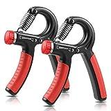 NIYIKOW Grip Strength Trainer, Hand Grip Strengthener, Adjustable...