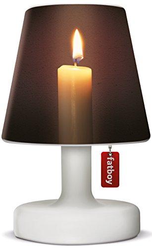 Fatboy® Edison the Petit + Cooper Cappie candlelight | Tischlampe / Outdoor Lampe / Nachttischlampe | Kabellos & per USB Aufladbar