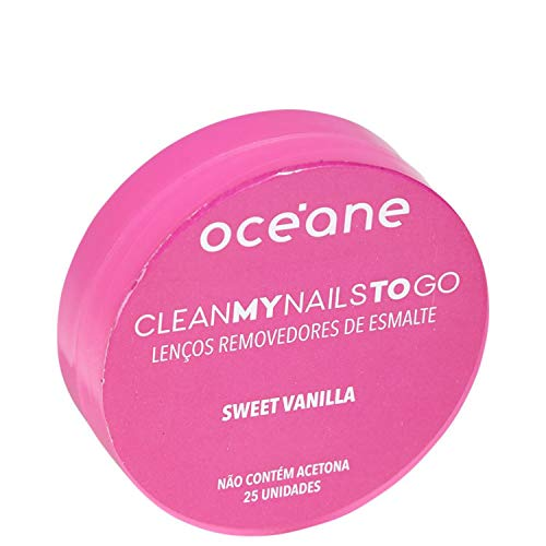 Lenço Removedor de Esmalte - Clean My Nails To Go Sweet Vanilla - Océane