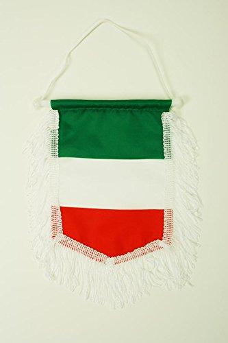 AZ FLAG Fanion Italie 15x10cm - Mini Drapeau Italien 10 x 15 cm - Bannière