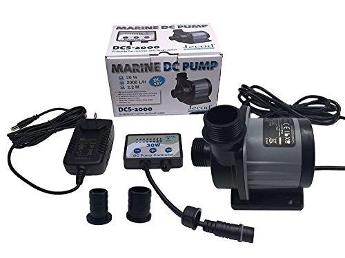 Jebao/Jecod DCS-2000 Nano DC Pump Adjustable Submersible Return Pump with Controller 520GPH