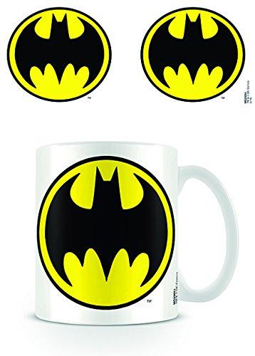 DC Originals MG23051 (Batman Logo-White) Mug, Céramique, Multicolore, 11oz/315ml
