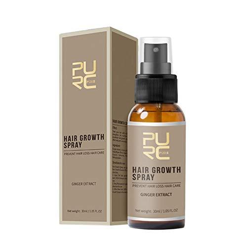 Ofanyia schnelles Haarwachstum Spray nachwachsen der Haare Behandlung gegen Haarausfall Haarpflege Haarverdickung Spray Haarwachstum Essenz Spray
